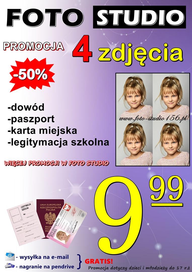ZDJĘCIA DO DOKUMENTÓW - Marzena Gierasimowicz FOTO STUDIO 156